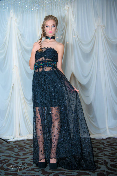 j-na-couture-Black-Organza-Sheer-Embroidered-Gown
