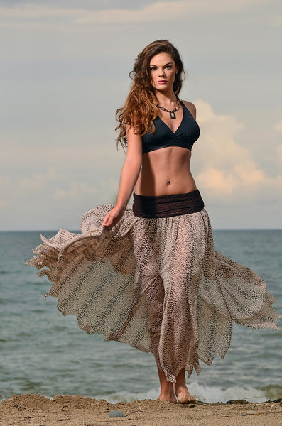 Couture Beach cover-up Skirt and Dress 2 in 1.