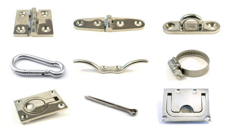 stainless steel hinges flush lift rings fittings