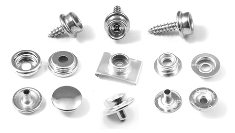 Snap fasteners 304 stainless steel Genuine DOT brand