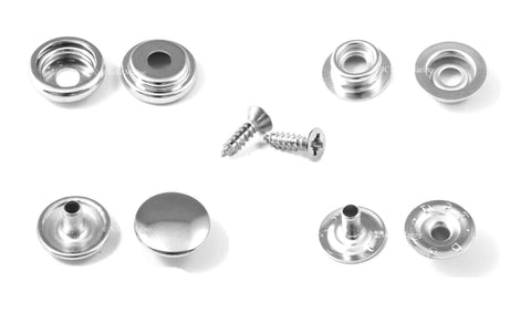 press studs snap fasteners 316 a4 marine grade stainless steel