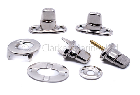 turnbutton fasteners turnbuckles boat canopy twist lock eyelet button