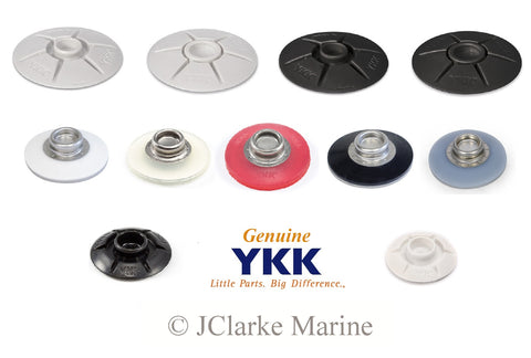 YKK Snad self adhesive fasteners UK stick on studs