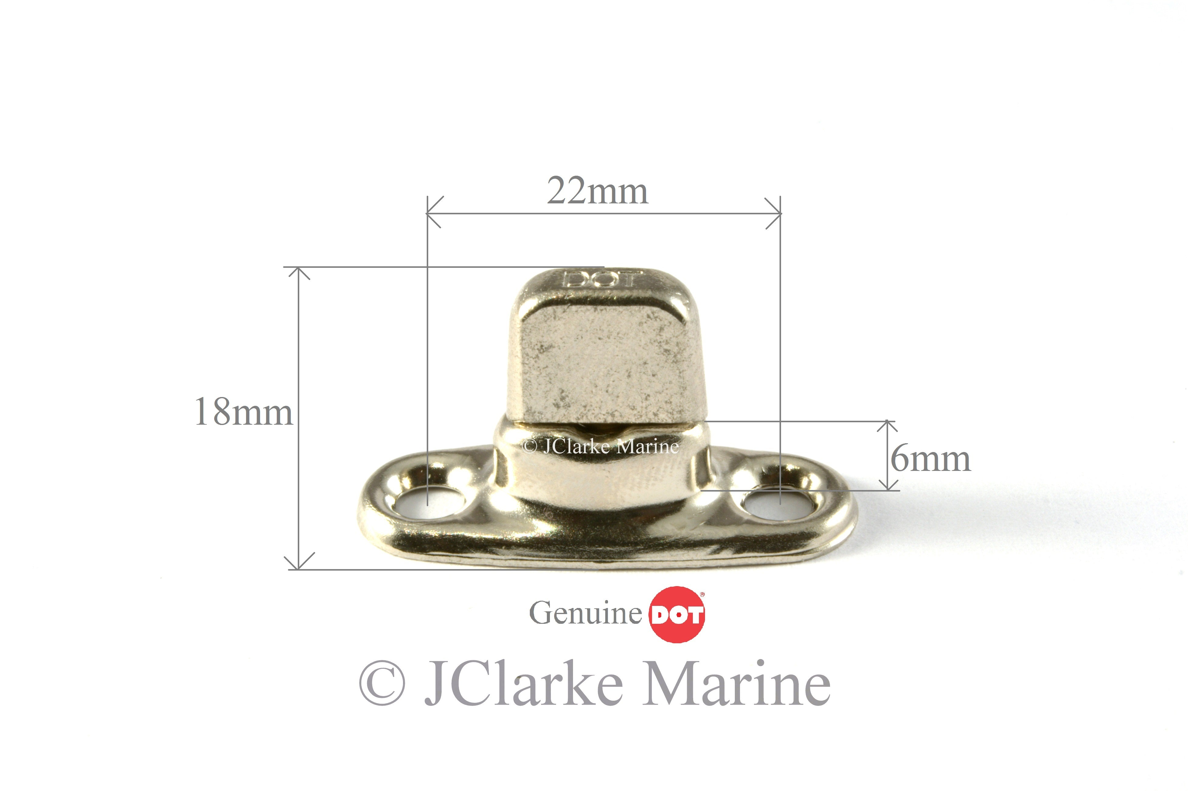 Turnbutton eyelet and cloth stud for fitting canvas to canvas