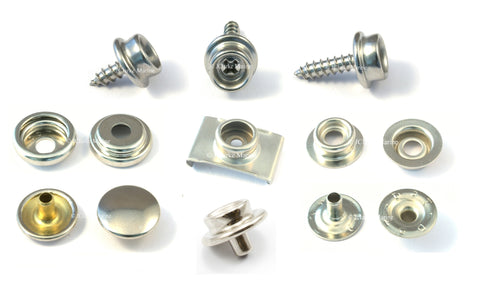 How to fit press snap fasteners