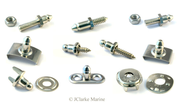 Full range of lift the dot fasteners