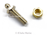 Genuine Tenax fastener longer 2ba threaded stud and nut male