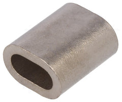 copper ferrules crimps for stainless steel wire rope marine grade nickel plated