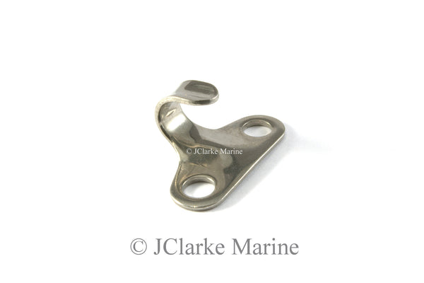 Stainless lacing hooks