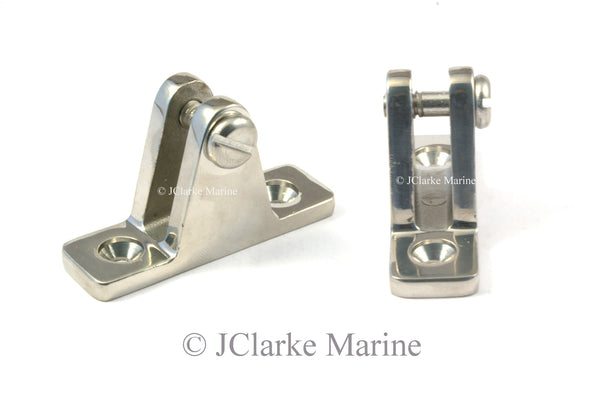 Heavy duty straight hinge