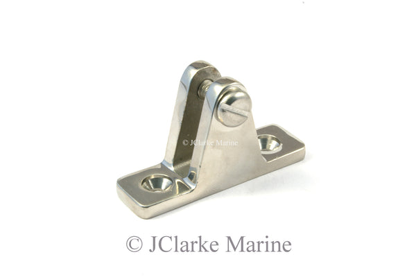 Deck hinge mount straight 90 degree