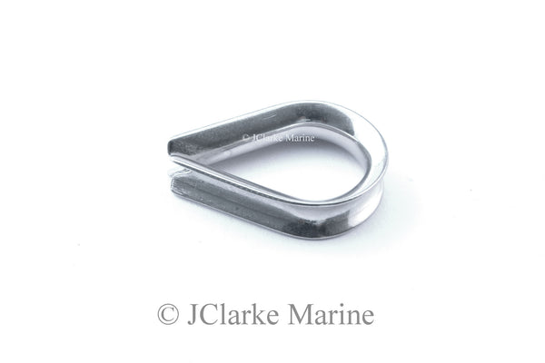 Stainless steel thimble for wire / rope