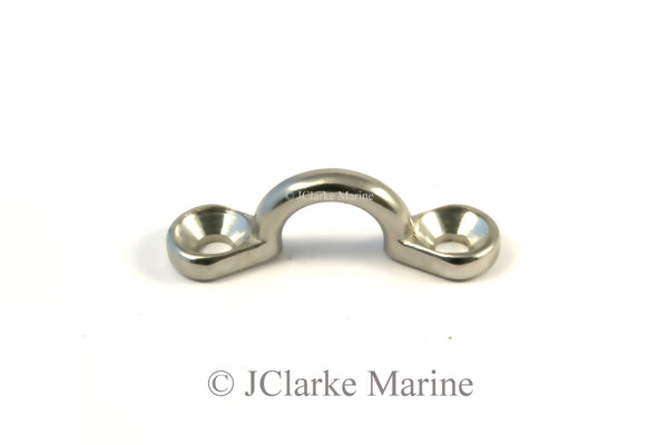 Eye Strap loop marine grade stainless steel 316 a4 boat canopy