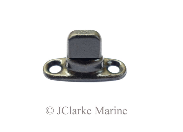 Turnbutton 2 hole base 6mm (Military black)