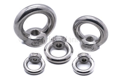 stainless steel eye nuts 316 a4 marine grade eye loop bolt hole lifting m5 m6 m8 m10 m12