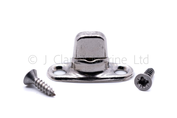turnbutton base stud fastener turnbuckle twist boat canopy