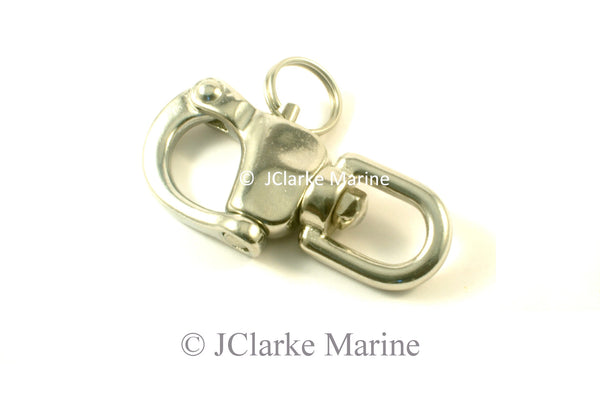 Spinnaker snap shackle 70mm and 87mm quick release