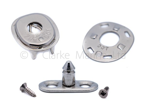 lift the dot 2 hole base stud fastener genuine dot boat canopy cover