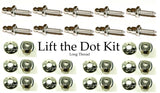Lift the dot kit with long thread studs