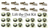 Lift the dot kit with short thread studs