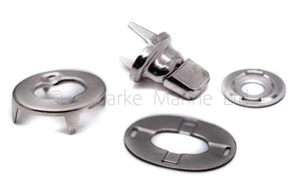 Cloth Turnbutton kit turnbuckles canvas stud (eyelet, washer and cloth)