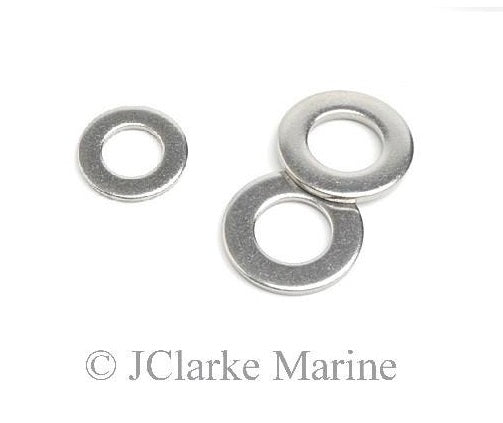 Stainless steel washers only