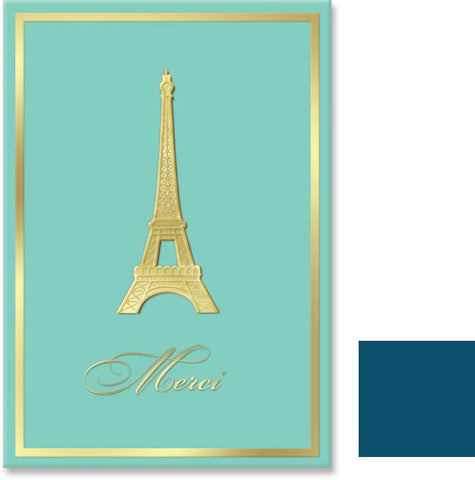 Paris Tour Eiffel Thank you Cards