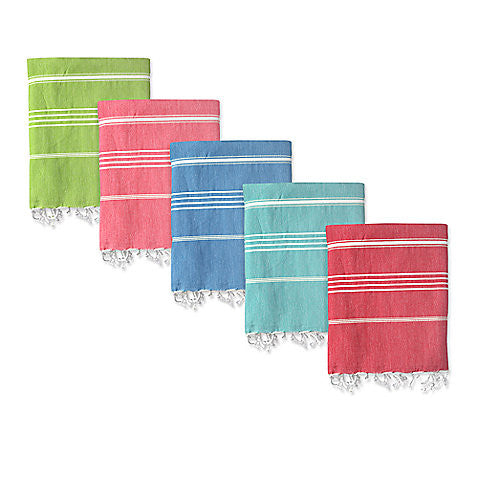 "100% Cotton Treasure Turkish Towel, 40"" x 70"""