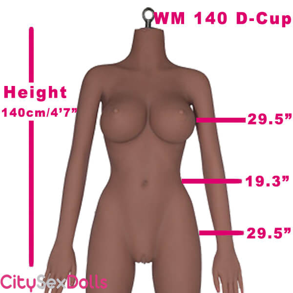 140cm (4ft7') D-Cup LifeLike Sex Doll Body