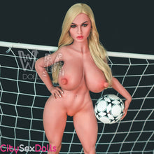 Load image into Gallery viewer, 155cm (5ft 1') L-Cup Huge Boobs Soccer Star Doll - Lexi
