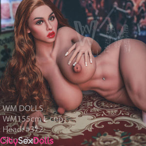 155cm (5ft 1') L-Cup Vintage Theme lover Sex Doll - Delaney