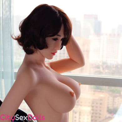 161cm (5ft 3) G-Cup Sex Doll in a Hotel Room - Virtue