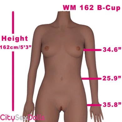 162cm (5ft3) B-Cup Asian Petite Love Doll