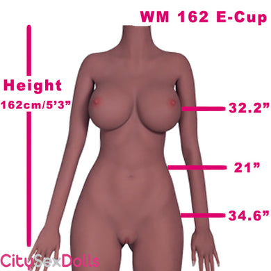 162cm (5ft3) E-Cup Australian CowGirl Love Doll