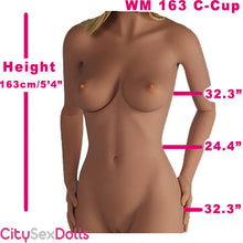 Load image into Gallery viewer, 163cm (5ft 4) C-Cup Best TPE Real Love Doll
