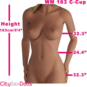 163cm (5ft 4) C-Cup Best TPE Real Love Doll