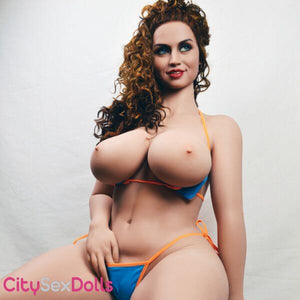 163cm (5ft 4) H-Cup Super Real Sex Doll with busty beauty - Helena