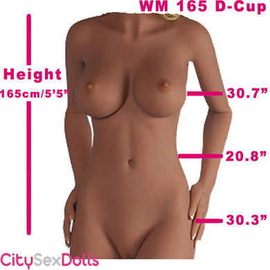 165cm (5ft 5) D-Cup Adult size life like love doll