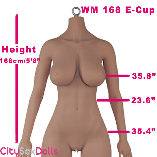 168cm (5ft 6) E-Cup Asian Lifesize Sex Doll