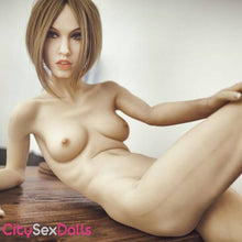 "Load image into Gallery viewer, 168cm (5ft 6"") A-Cup Super Skinny Love Doll with Small Boobs - Pupa"