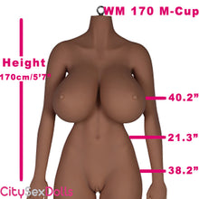 Load image into Gallery viewer, 170cm (5ft 7) M-Cup BBW TPE Sex Doll