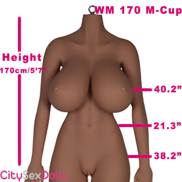 170cm (5ft 7) M-Cup BBW TPE Sex Doll