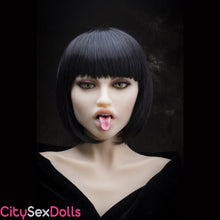 Load image into Gallery viewer, head 6 with Normal Teeth and Tongue Kit for Sex Dolls