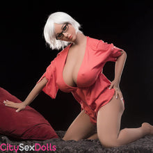 Load image into Gallery viewer, Adult Teacher Sex Doll with Big Boobs in a classroom