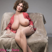 Load image into Gallery viewer, Boobilicious Sex Doll with Curly Hairs