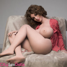 Load image into Gallery viewer, Boobilicious Sex Doll with Curly Hairs getting bored