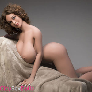 Boobilicious Sex Doll with Curly Hairs posing naked
