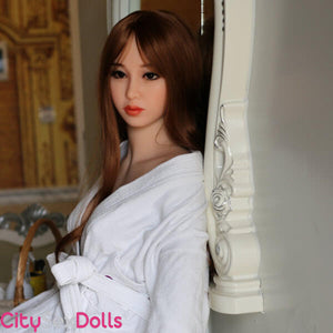 Charming Japanese Sex Doll with Small Boobs
