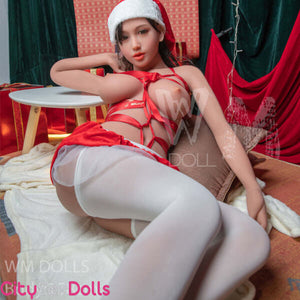 G-Cup Santa Lovedoll with huge Melons