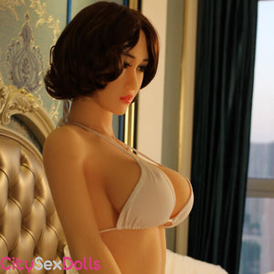 G-Cup Sex Doll in a Hotel Room